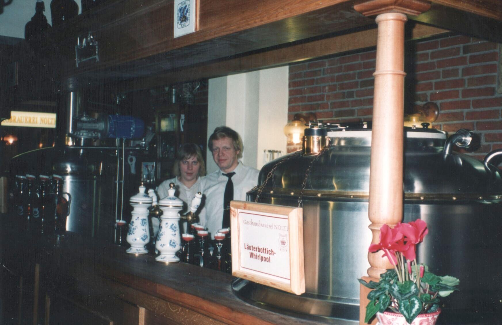 Brauhaus Nolte - Brauerei 1993
