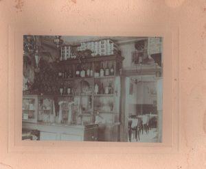 Brauhaus Nolte - Gaststube um 1908