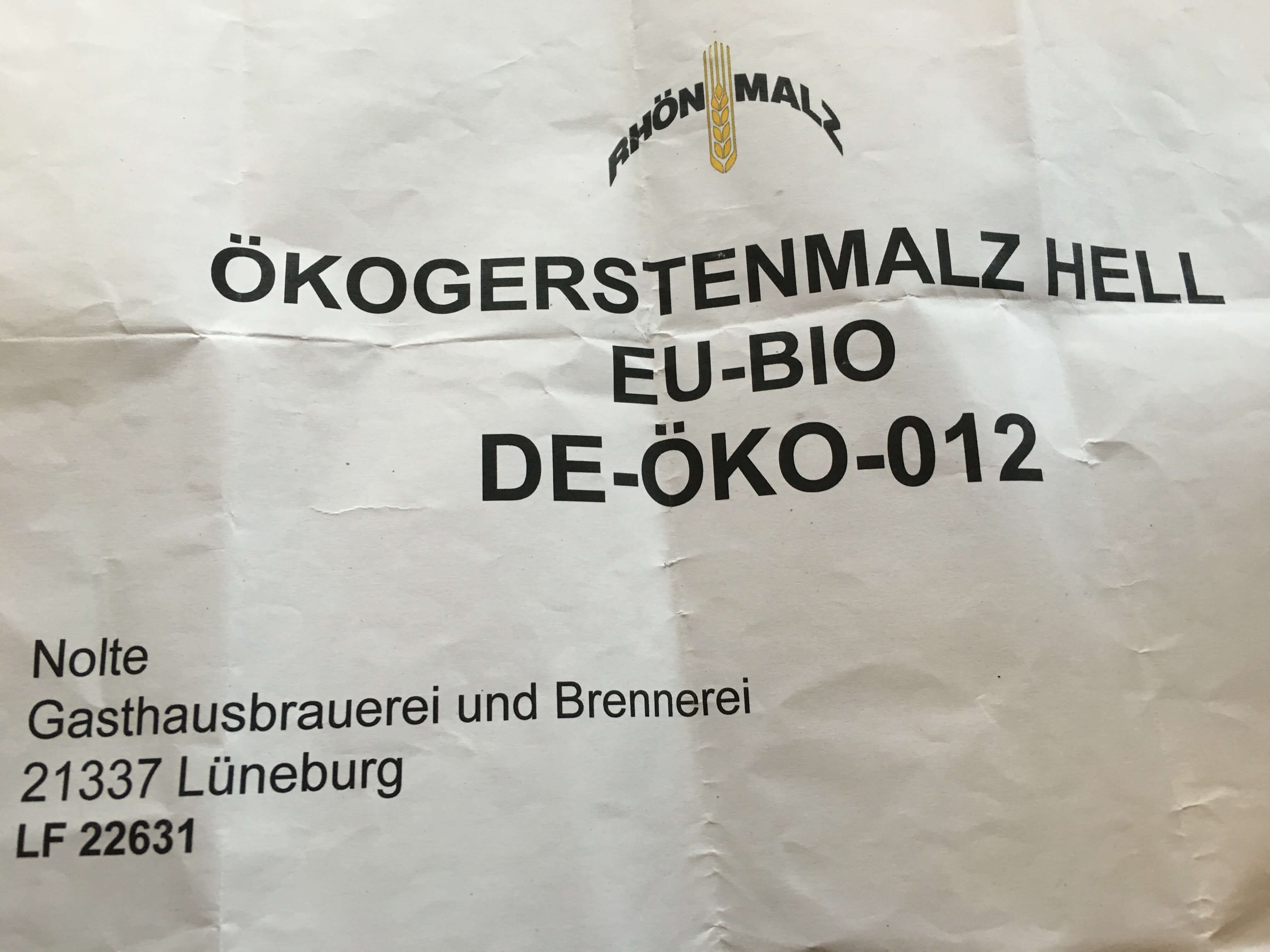 Brauhaus Nolte -Ökogerstenmalz